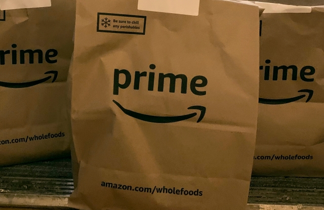 Amazon operates its Prime delivery services out of a number of Whole Foods' locations.