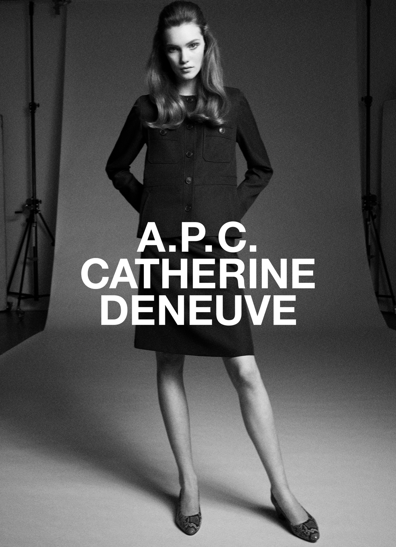 The A.P.C. Catherine Deneuve campaign