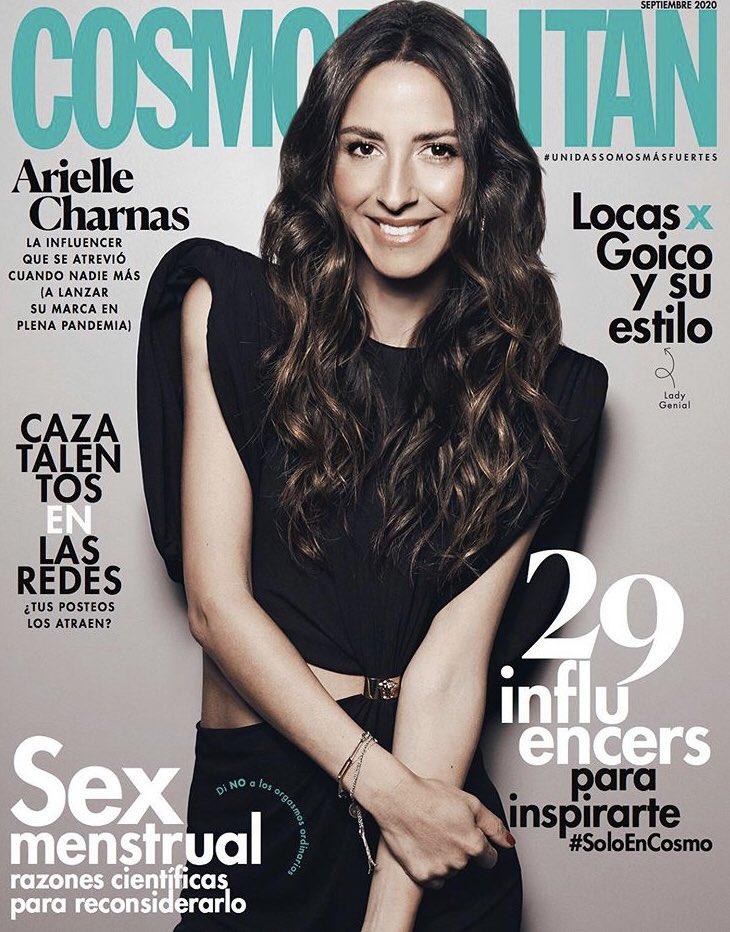 Cosmopolitan Mexico Faces Backlash Over Arielle Charnas Cover