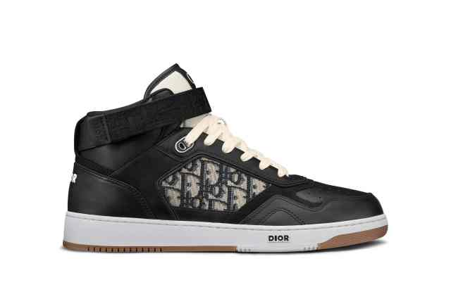 The high-top version of Dior's B27 sneaker.