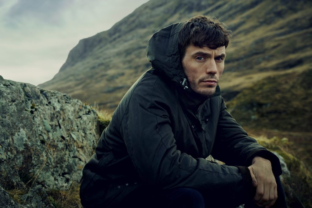 The new Barbour Gold Standard campaign featuring Sam Claflin