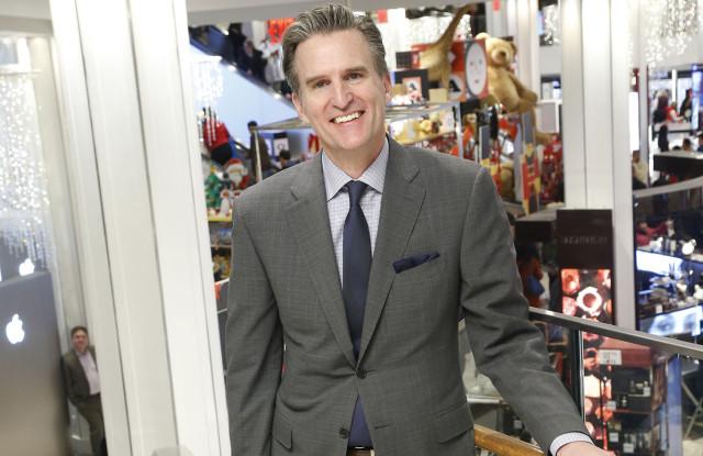 El director ejecutivo de Macy's, Jeff Gennette.
