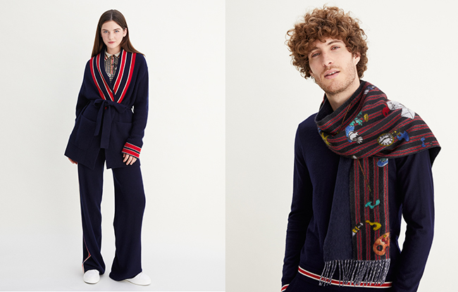 Eric Bompard x Vincent Darré capsule collection