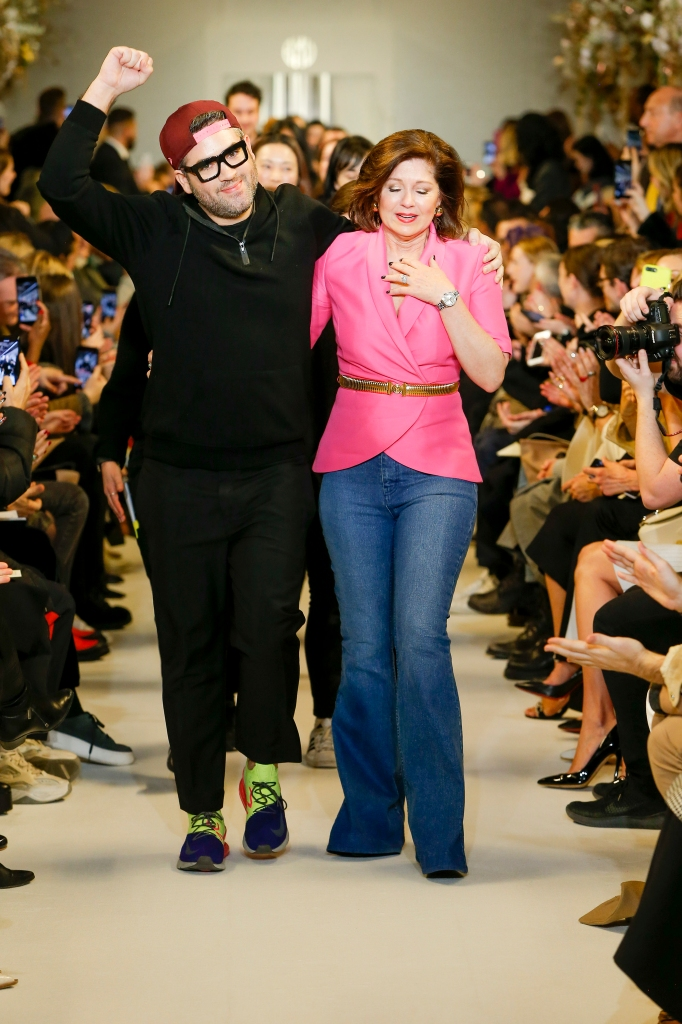 Family Guy: for Fall 2019 season, Maxwell's mother joined him for his runway bow.