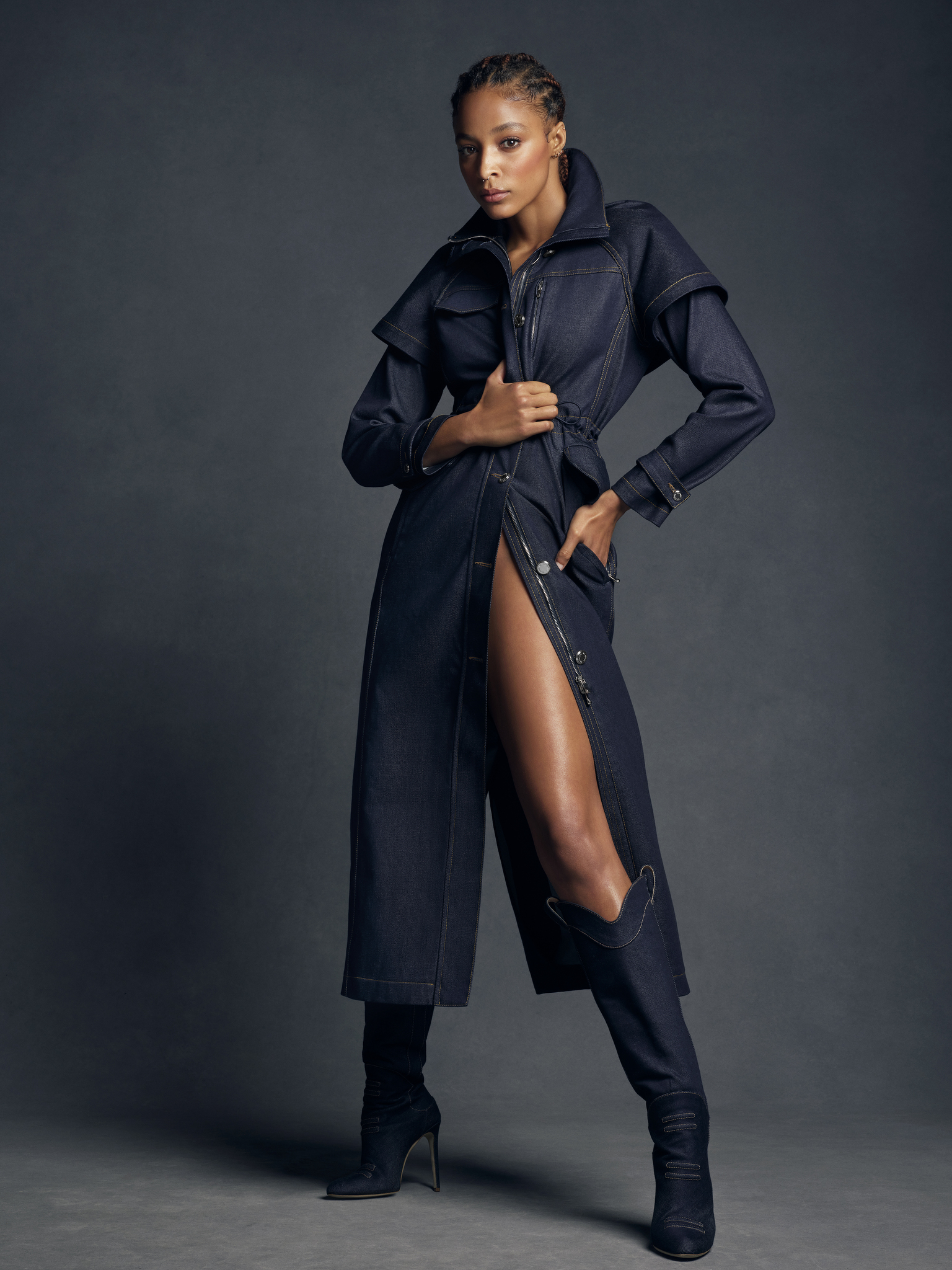 Maxwell's Anniversary Collection is based on denim.