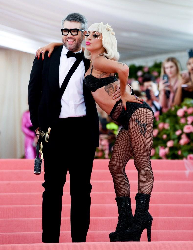 BFF: Maxwell and Lady Gaga at last year's Met Gala.