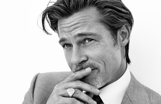 """Brad Pitt fronts Brioni's fall 2020 """"Tailoring Legends"""" advertising campaign."""