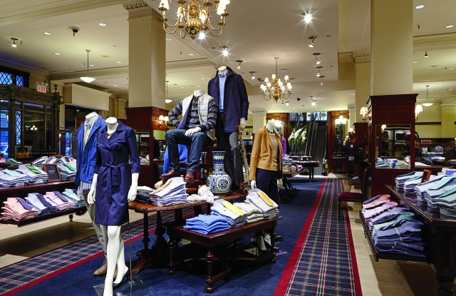Brooks Brothers flagship.