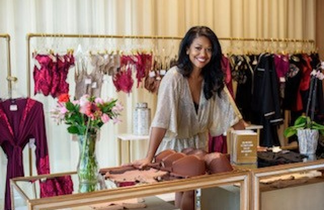 Jasmine Jones of Cherry Blossom Intimates.