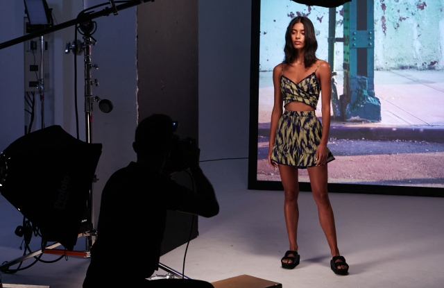 Cinq à Sept was one of the brands which showed during NYFW: The Shows.
