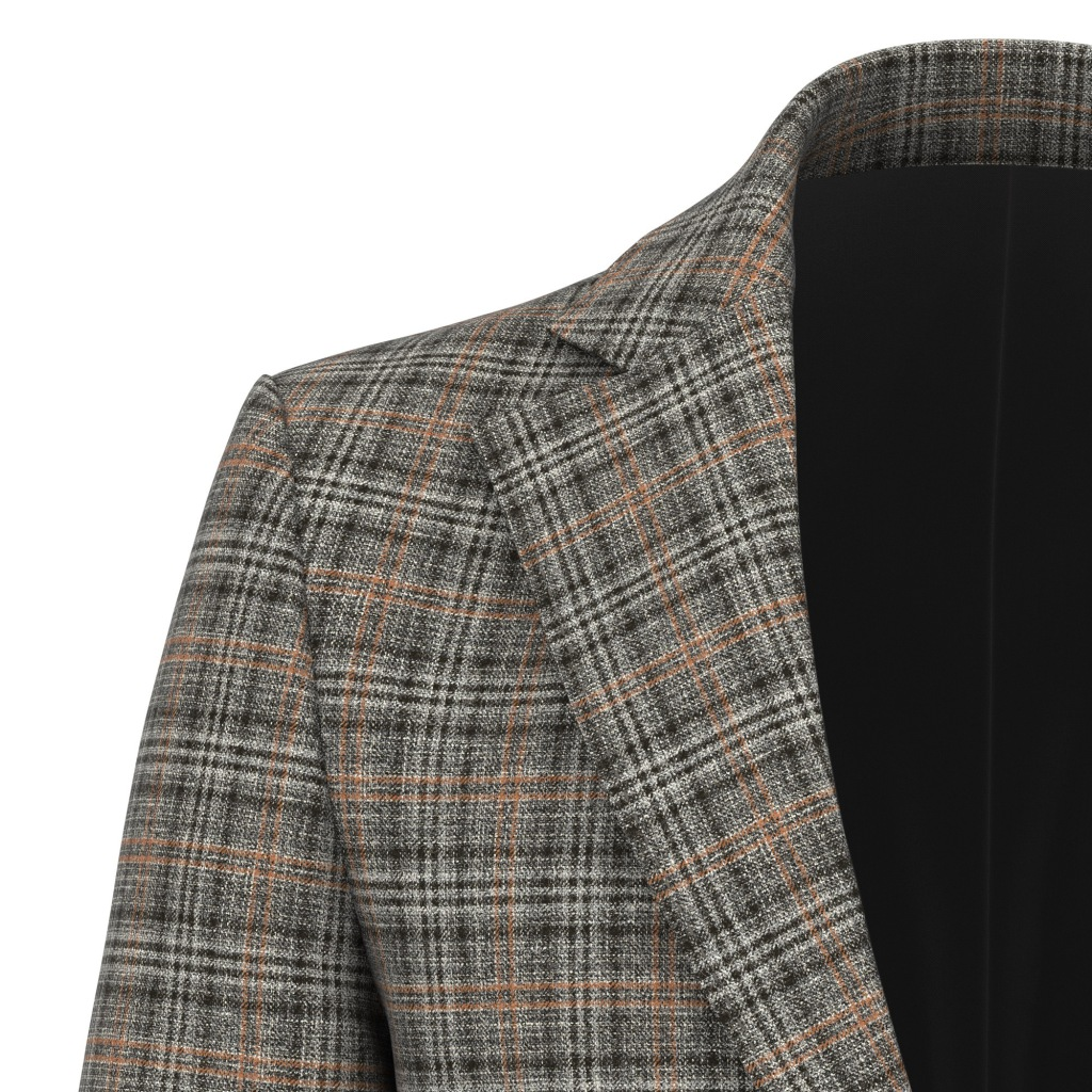 A blazer crafted from a Reda 1865 fabric from the fall 2021 collection.