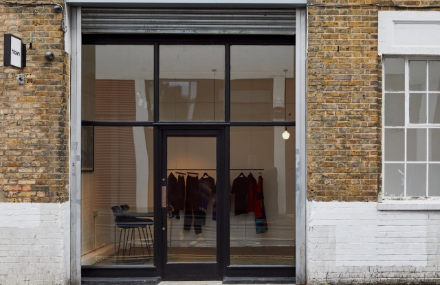 The store front of htown at 12-18 Hoxton Street, London.