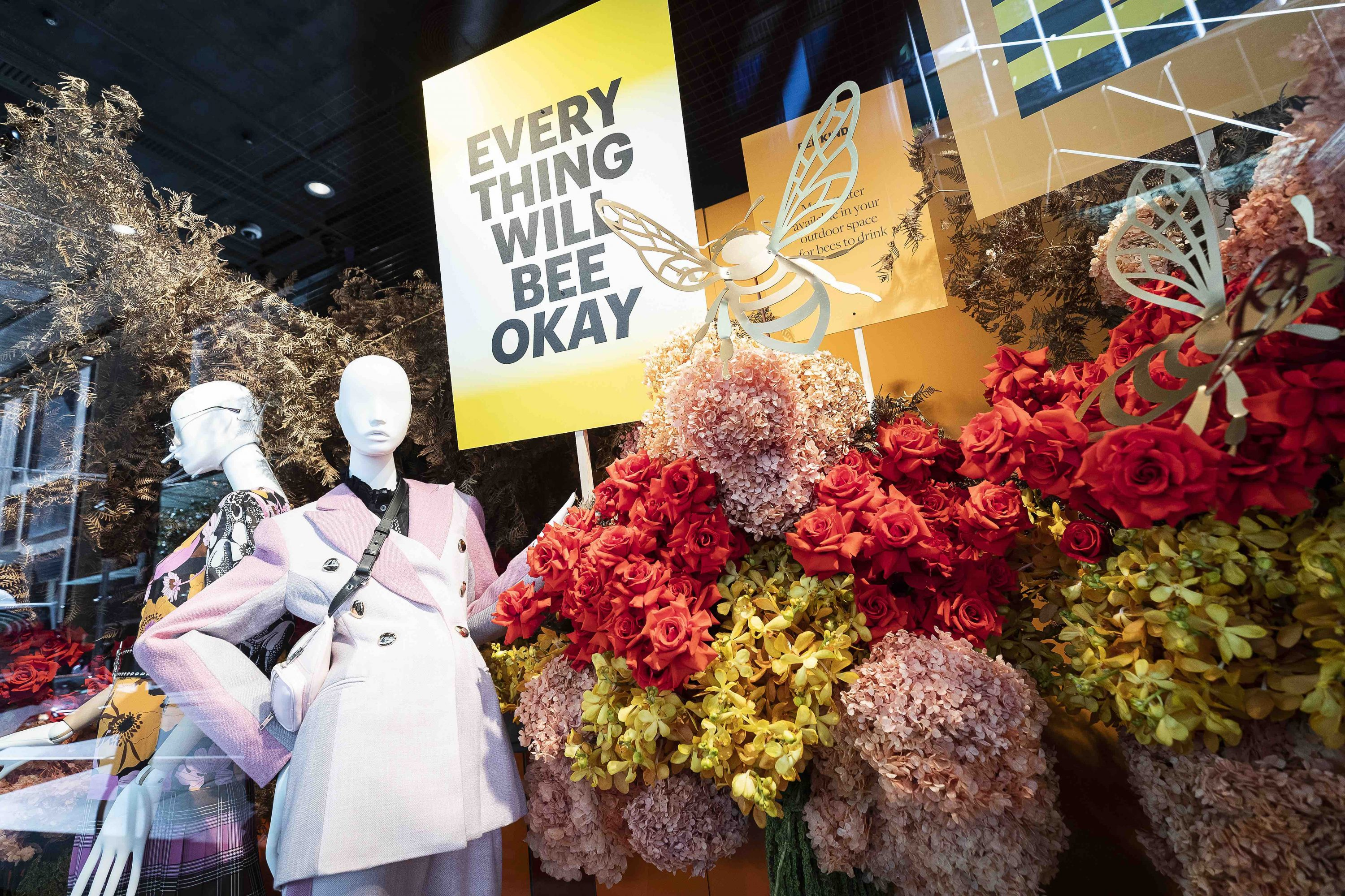 Images from the 35th annual Spring Flower Show at the Elizabeth Street, Sydney flagship of Australian department store David Jones.