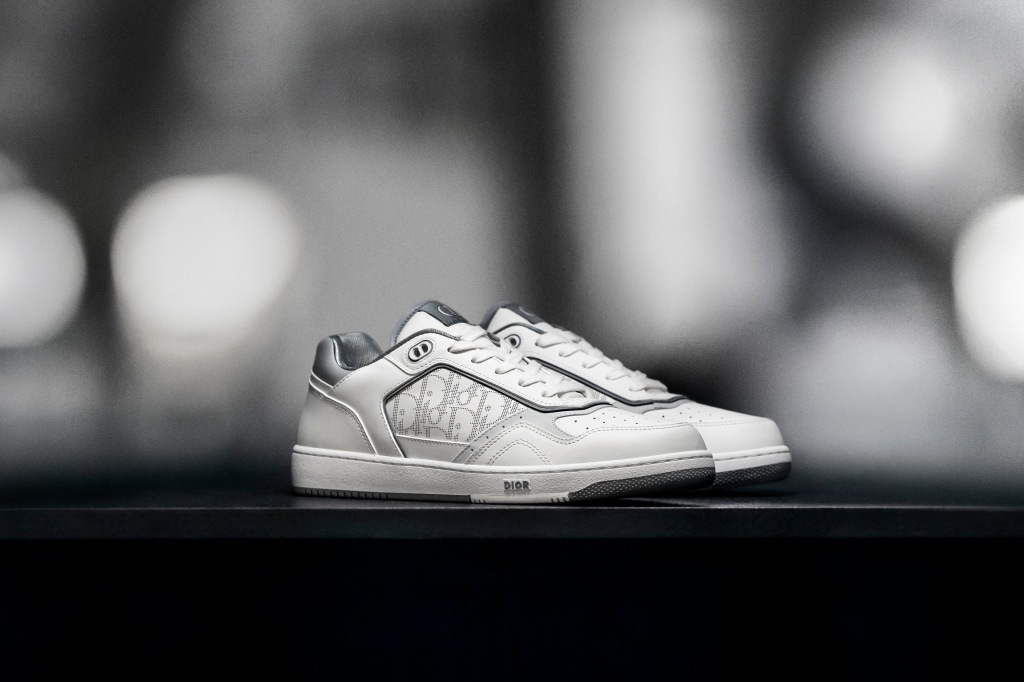 The low-top version of Dior's B27 sneaker.
