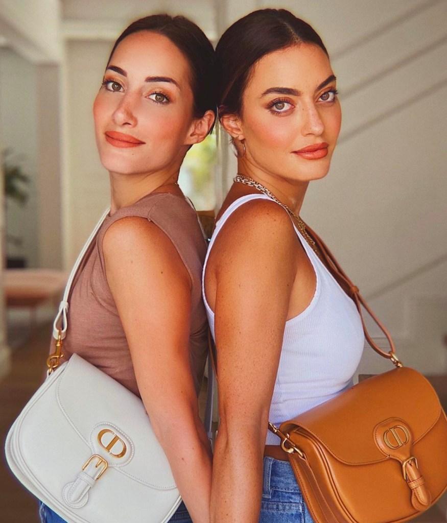 Karen and Jessica Wazen wearing the Dior Bobby