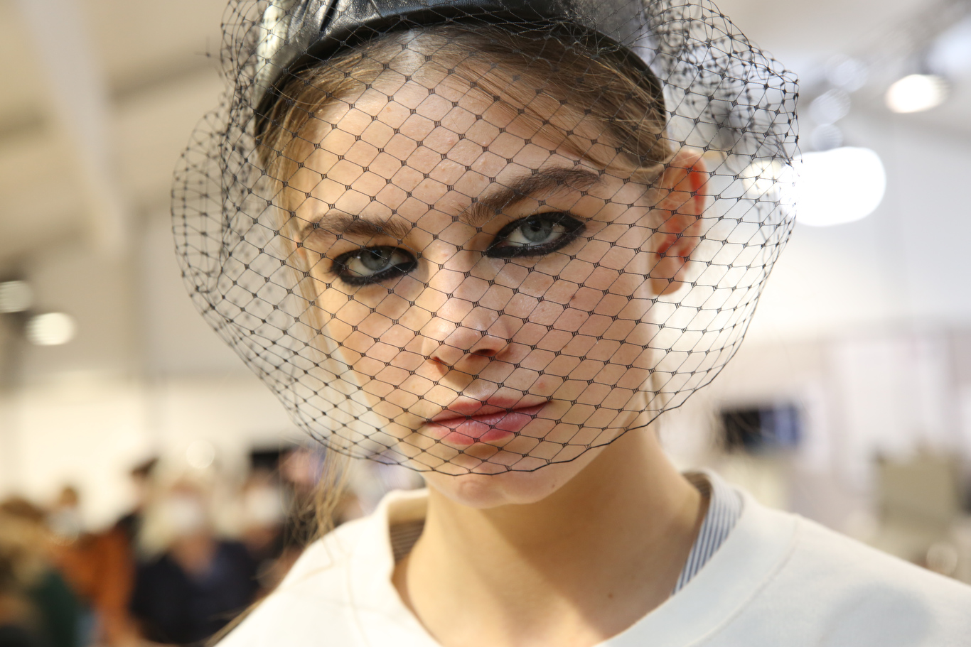Backstage at Dior RTW Spring 2021