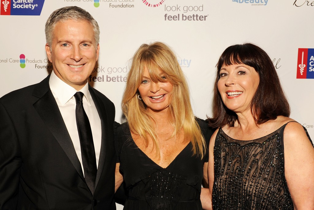 Jerry Vittoria, Goldie Hawn and Pam Baxter, 2013
