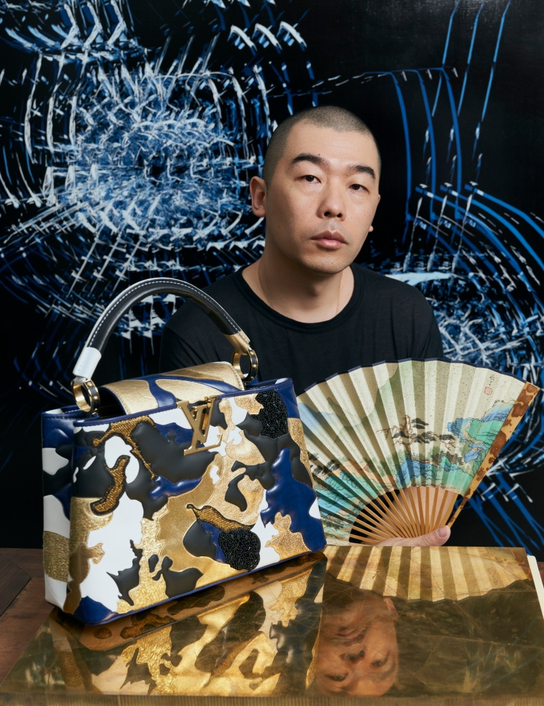 Zhao Zhao with his Artycapucines bag.