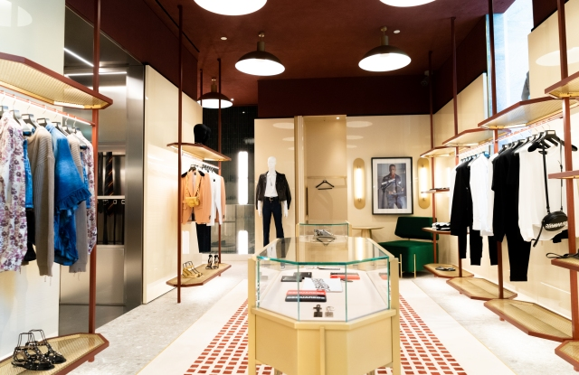 The new Dsquared2 store in Lisbon.