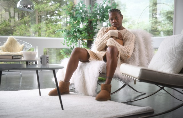 Telfar Clemens in the Ugg 'Feel You' series