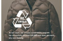 Re.Uniqlo recycled down jacket
