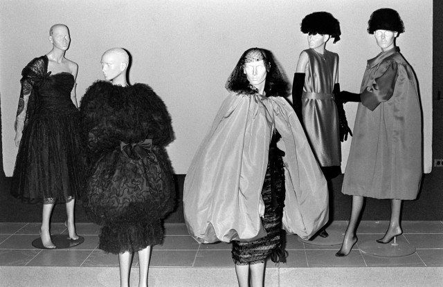 The Costume Institute of the Metropolitan Museum of Art's first exhibition devoted to designer Cristobal Balenciaga opened on March 23, 1973.