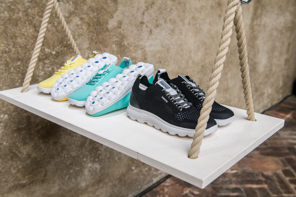 The Geox Spherica sneakers for spring 2021.
