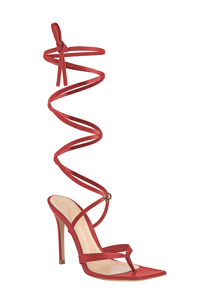 Gianvito Rossi's gladiator sandal.