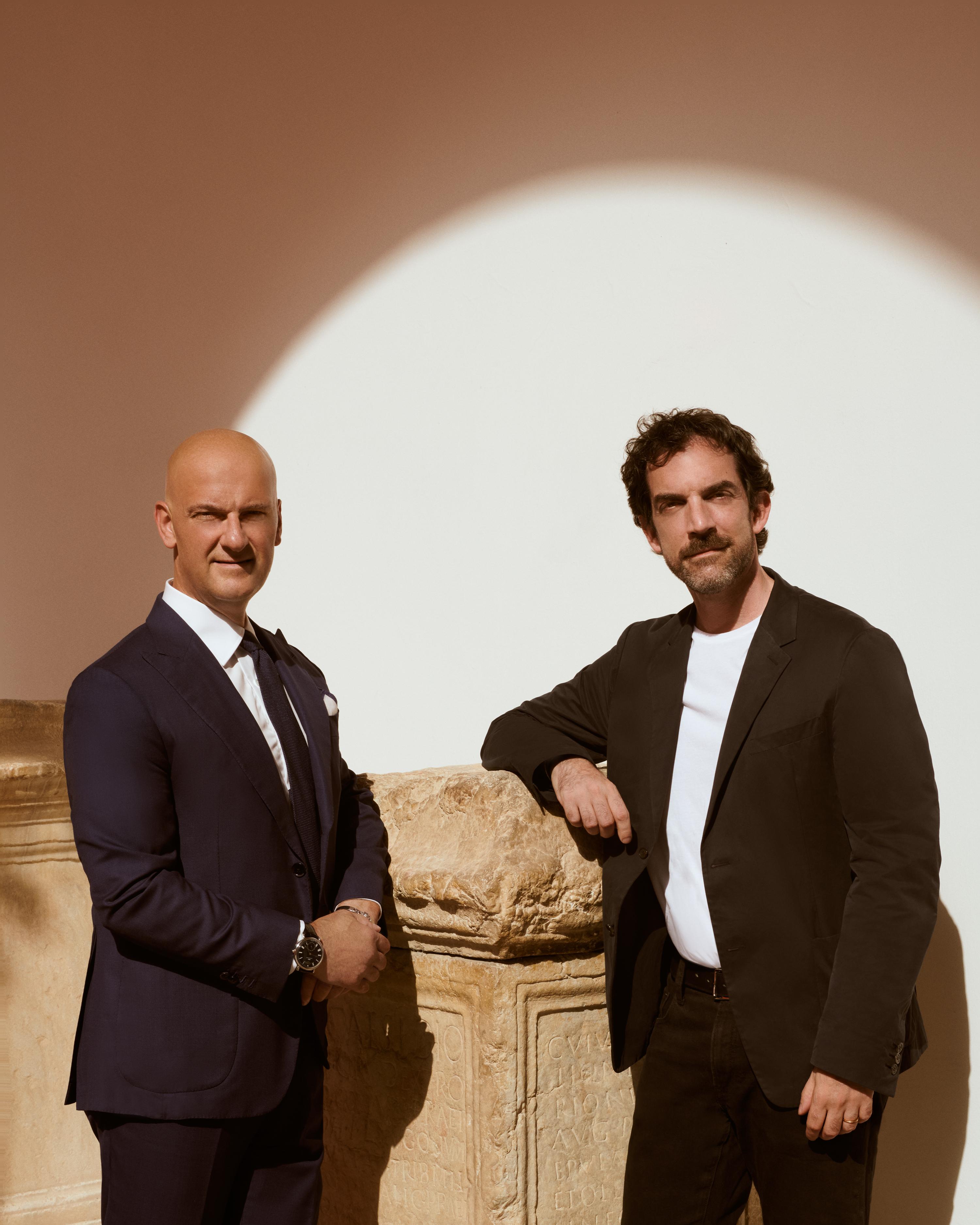 Giuseppe Santoni and Andrea Reinieri