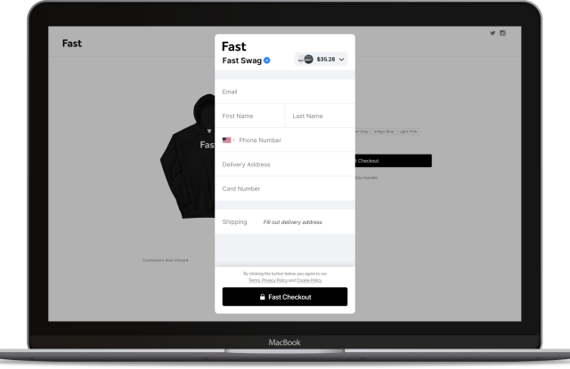 Fast debuts Fast Checkout, an instant online checkout tool that works on any browser.