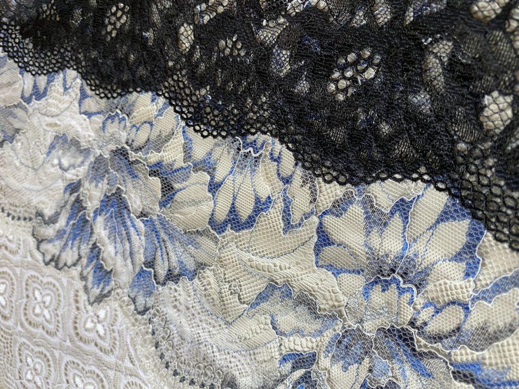 Stretch lace fabrics from Iluna Group.