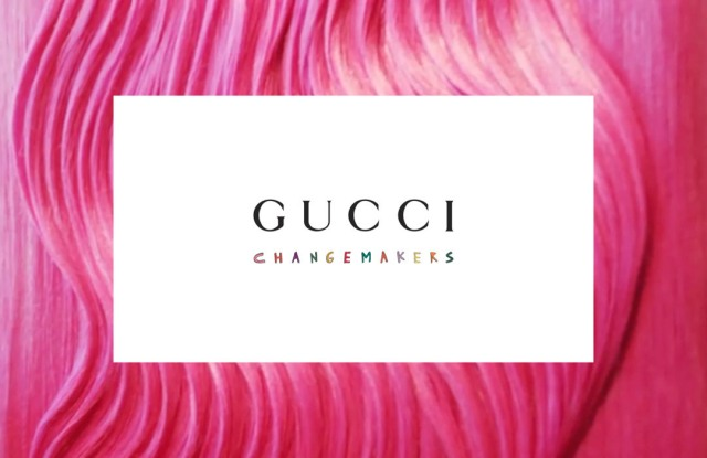 Gucci has opened the  application process for its North America Changemakers  initiative.