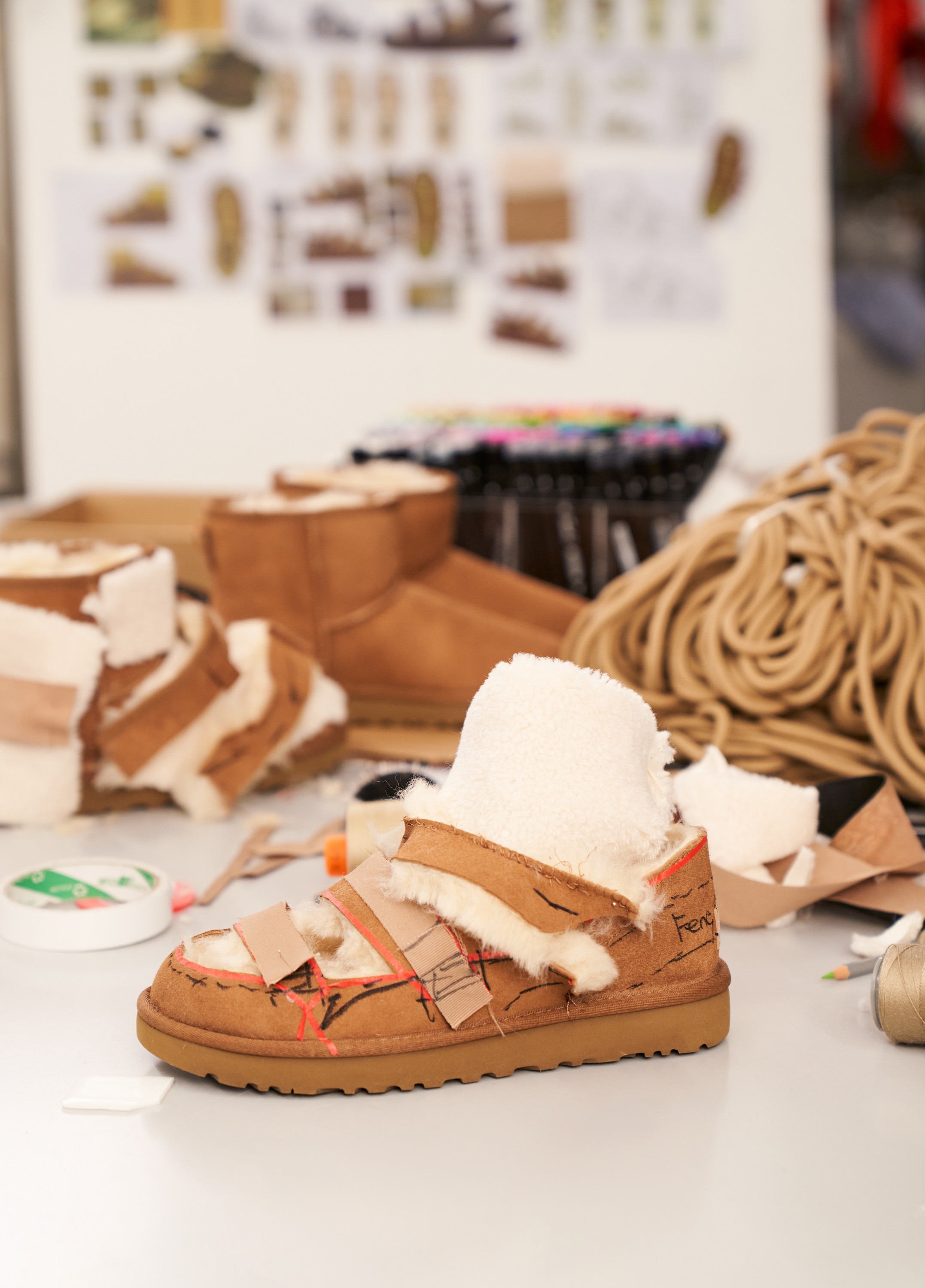 Ugg boots designed by Feng Chen Wang