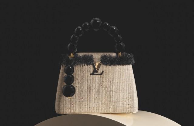 Jean-Michel Othoniel's bag for Louis Vuitton's Artycapucines project.
