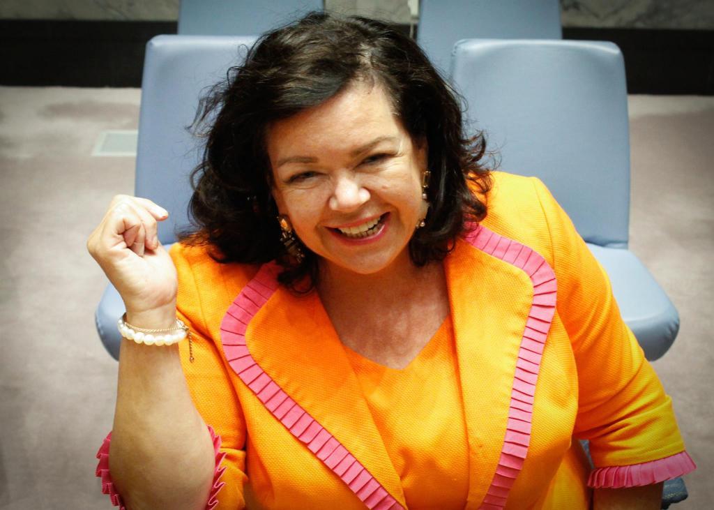U.K. ambassador Karen Pierce