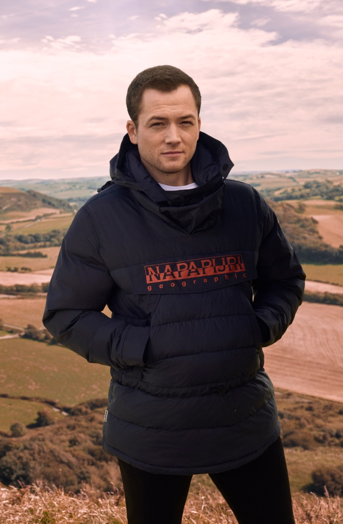 Taron Egerton - Napapijri brand ambassador photographed by Charlie Gray in Aberystwyth, Wales.