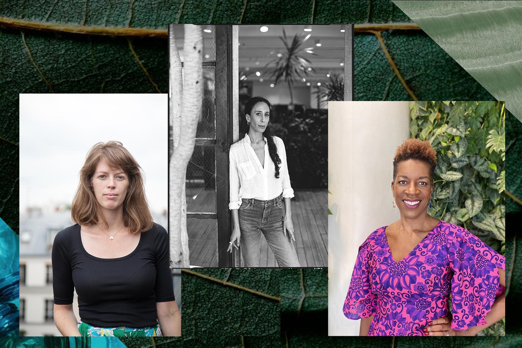 Lauren Shields, Business for Social Responsibility, Mara Hoffman, designer, and Ngozi Okaro, Custom Collaborative.