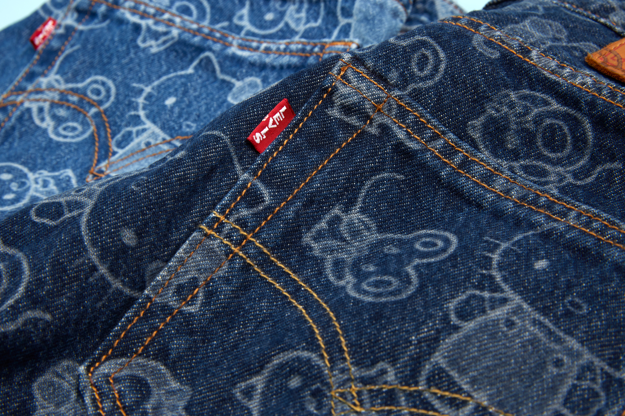 Levi's Hello Kitty-inspired jeans.