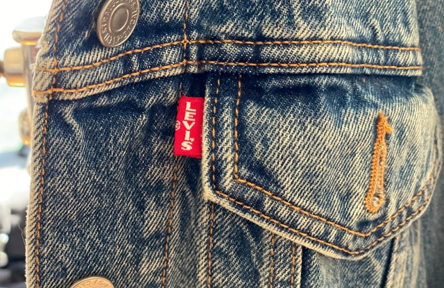 Levi's products are 90-percent cotton-based.