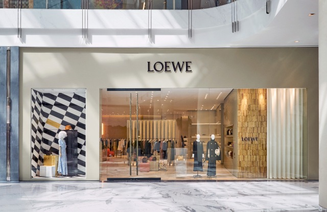 The new Loewe boutique at the Dubai Mall.