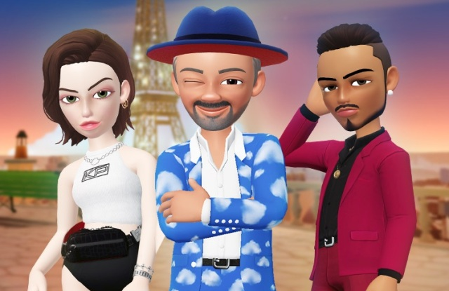Christian Louboutin with King Princess and Quincy Brown in Loubi World.