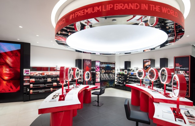 MAC Cosmetics retail concept
