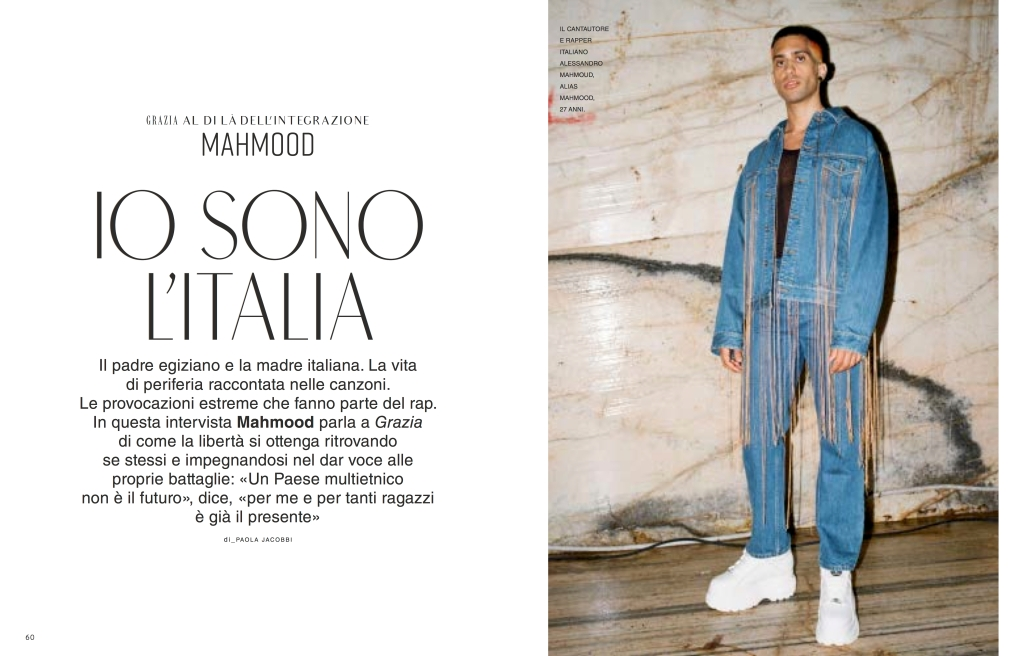 """An inside look at the upcoming Grazia Italia issue dedicated to """"freedom of expression."""""""