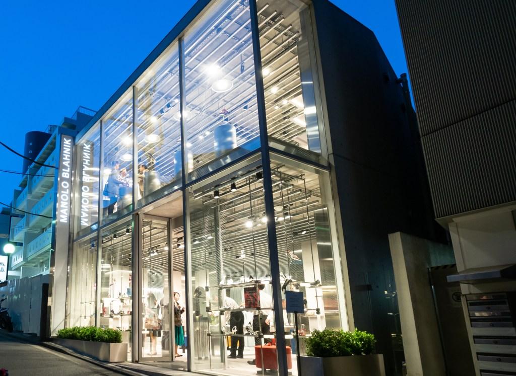 Manolo Blahnik Omotesando Store in Japan.
