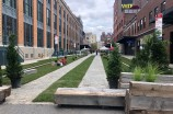 """The Future Streets"" installation in the Meatpacking District."