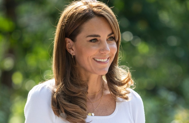 Kate Middleton in Battersea Park, London UK, on the 22nd September 2020.