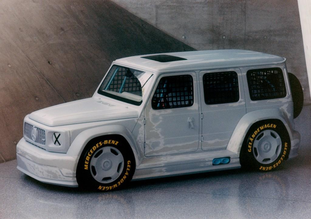 The Project Geländewagen collaboration between Virgil Abloh and Mercedes-Benz.
