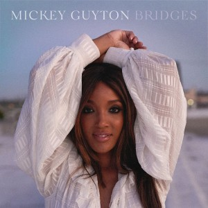 The album cover of Bridges by Mickey Guyton.