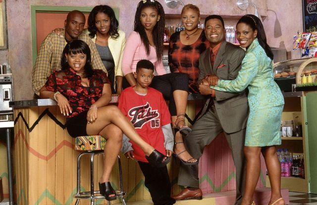"The cast of ""Moesha."""