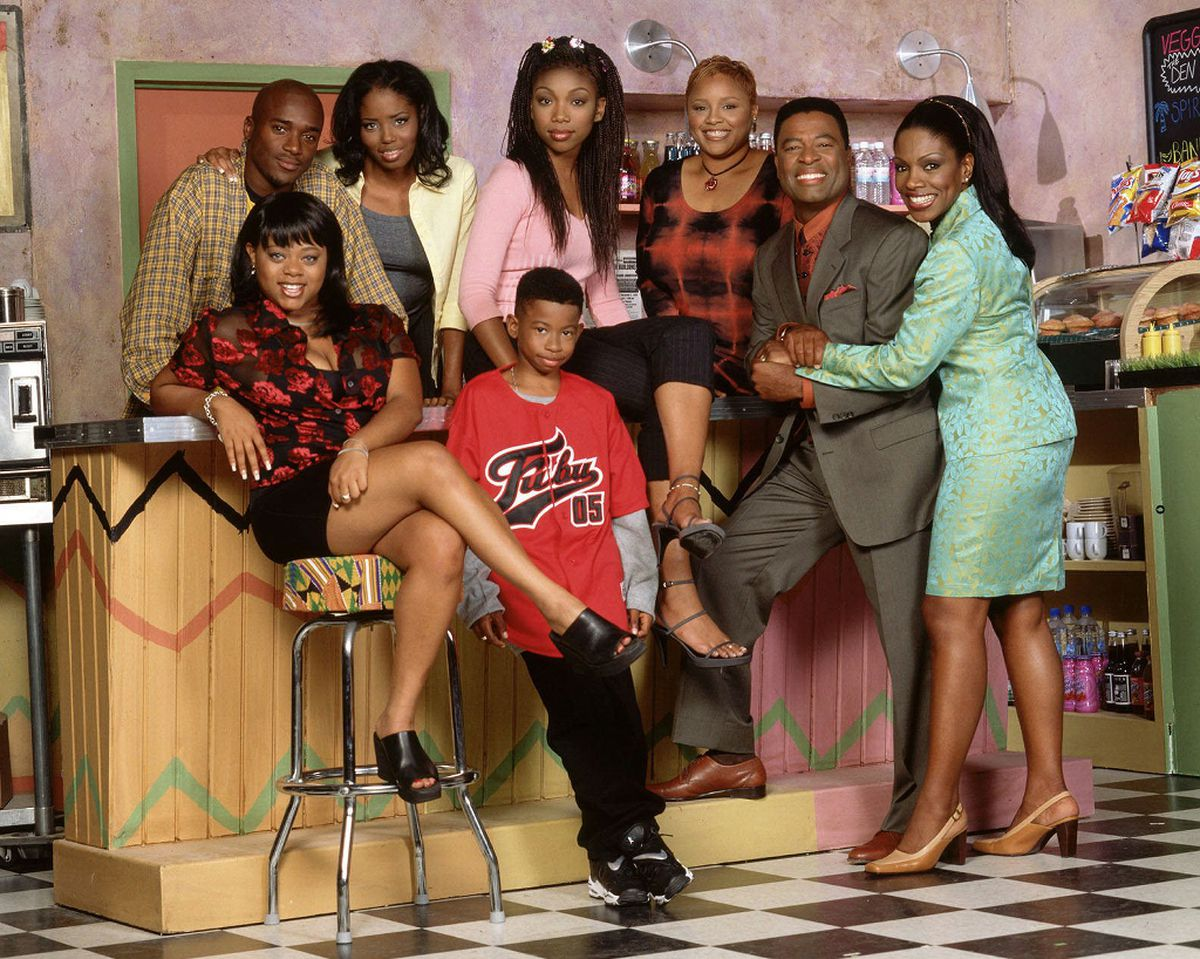 "The cast of ""Moesha."""